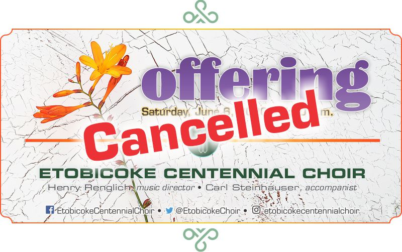 "ECC's ""Offering"" cancelled"